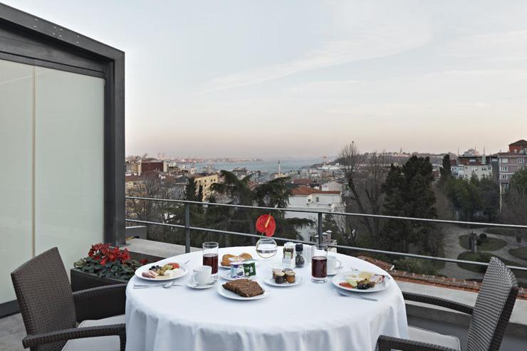 TomTom Suites - Terrasse