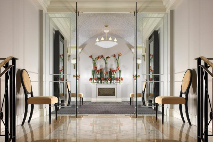 The Berkeley - Entrée de l'hôtel