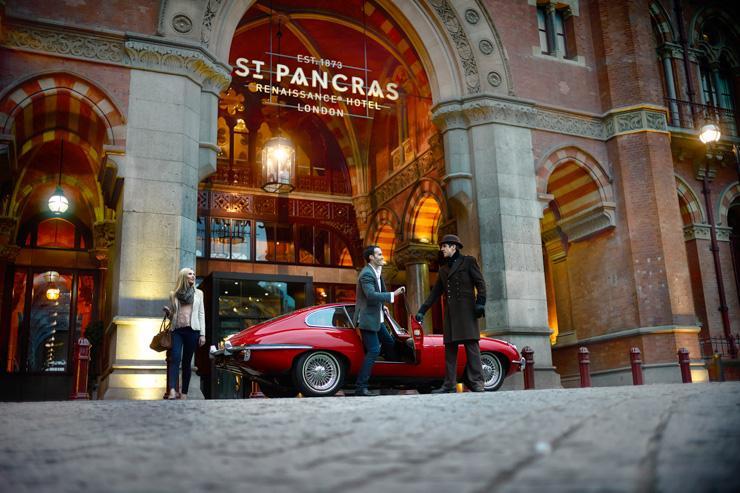St Pancras Renaissance London Hotel - Entrée de l'hôtel