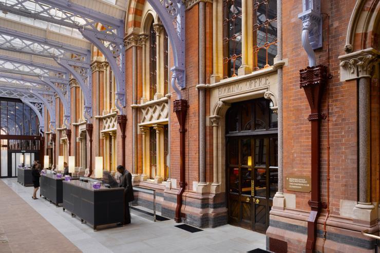 St Pancras Renaissance London Hotel - Lobby et réception