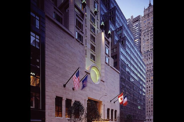 Four Seasons Hotel New York - Entrée de l'hôtel
