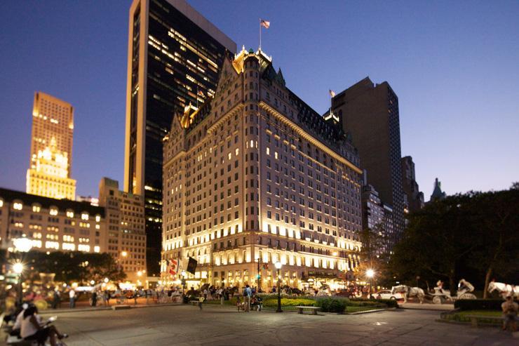 The Plaza Hotel - Extérieur de l'hôtel