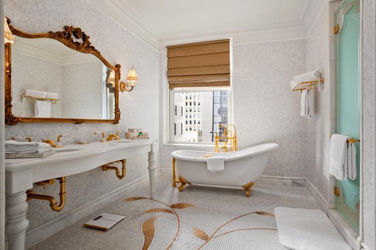 The Plaza Hotel - Salle de bain