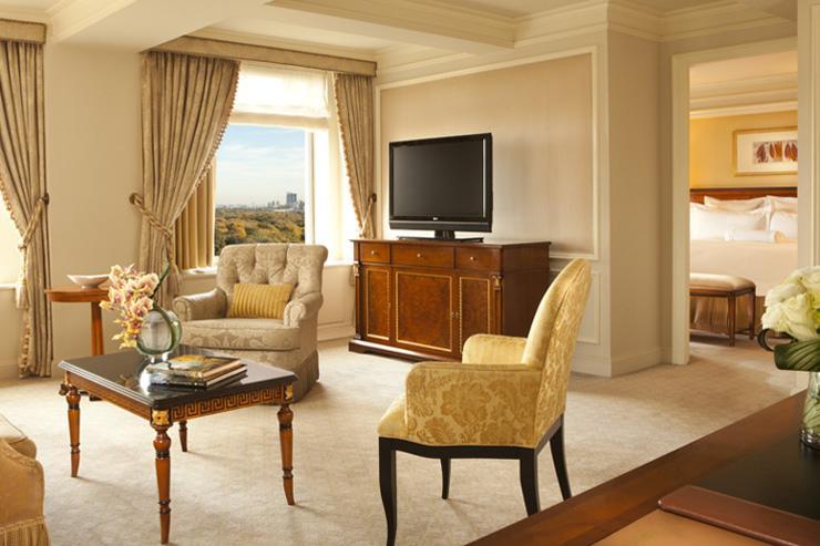 The Ritz-Carlton New York Central Park - Suite avec vue sur le parc