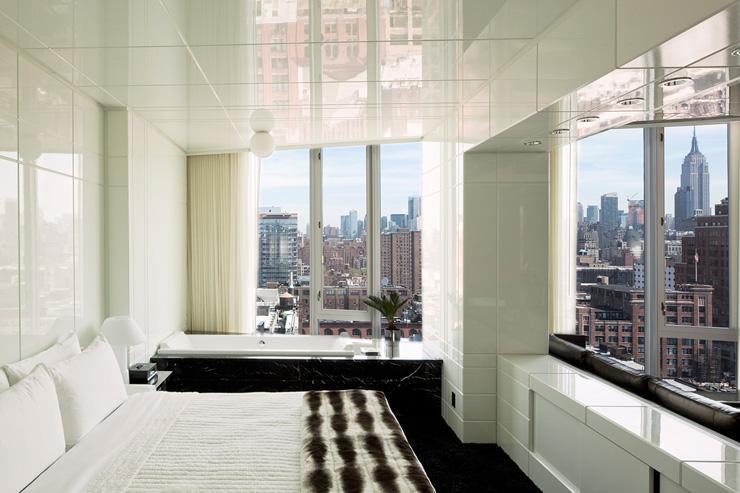 The Standard High Line - Chambre avec vue côté ville
