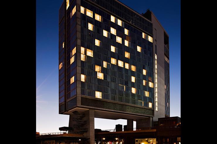 The Standard High Line - Vue extérieure de l'hôtel