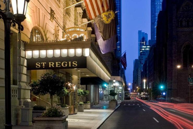 The St. Regis New York - Entrée de l'hôtel