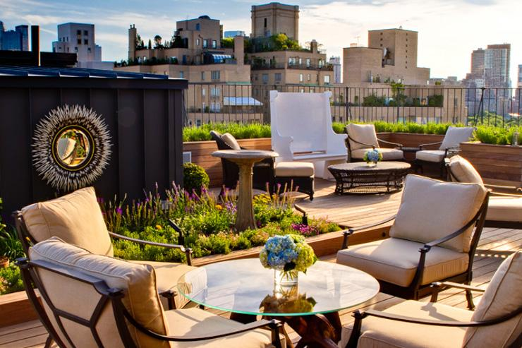 The Surrey - Terrasse rooftop