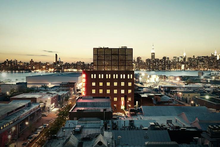 Wythe Hotel à Brooklyn - Vue extérieure de l'hôtel