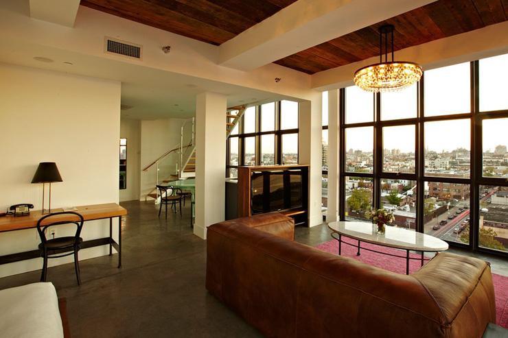 Wythe Hotel à Brooklyn - Suite façon loft