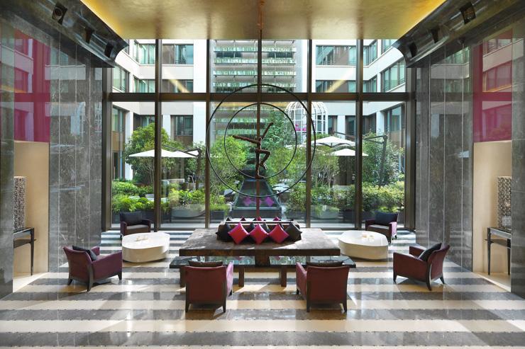 Mandarin Oriental Paris - Lobby