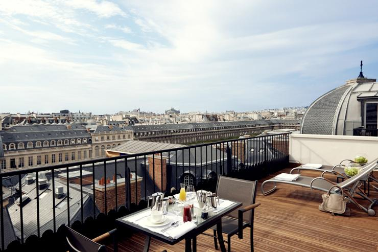 Grand Hôtel du Palais Royal - Terrasse
