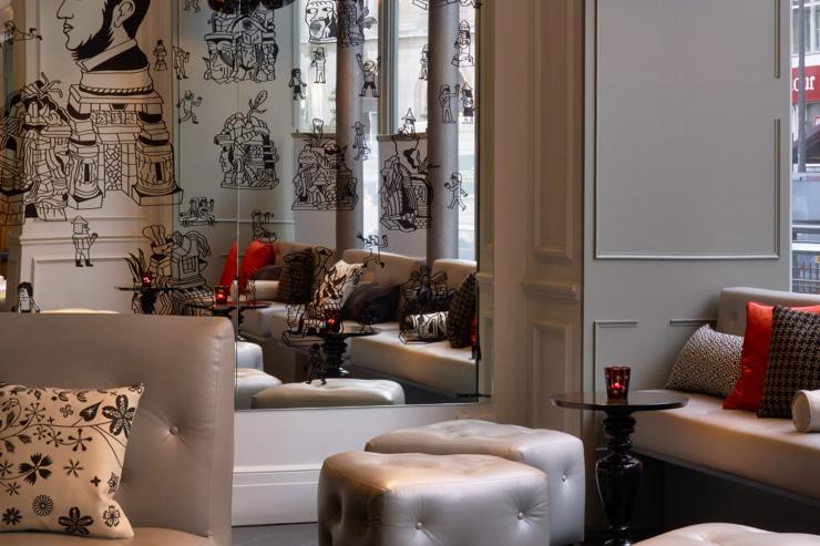 W Paris - La zone lobby/bar