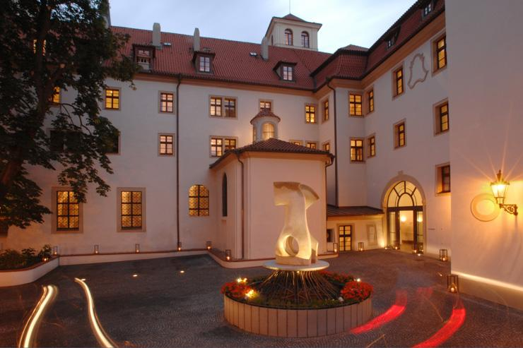 The Augustine à Prague - Cour de l'hôtel