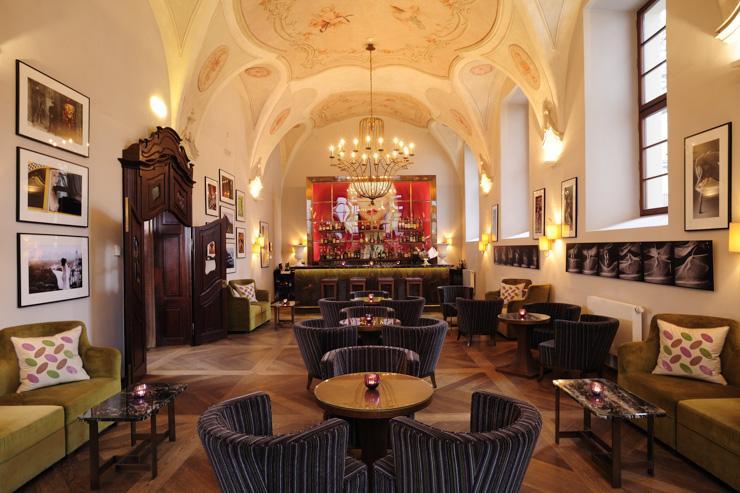 The Augustine à Prague - Bar de l'hôtel