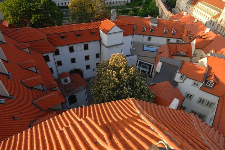 The Augustine à Prague - Vue de l'hôtel depuis la Tower Suite