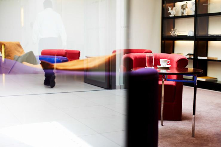 Maximilian Hotel à Prague - Lobby