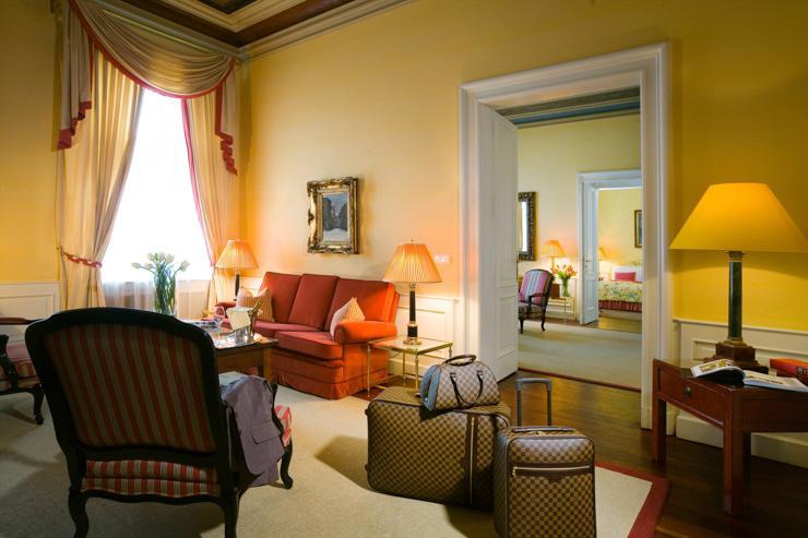 Le Palais Hotel à Prague - Suite
