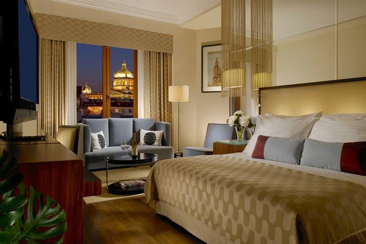 Alcron Hotel Prague - Chambre avec vue sur la ville