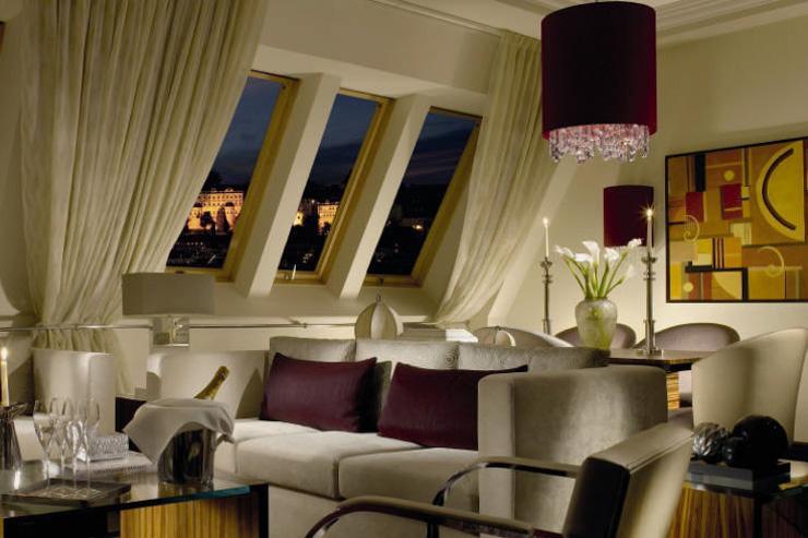 Alcron Hotel Prague - Suite avec vue sur le Château