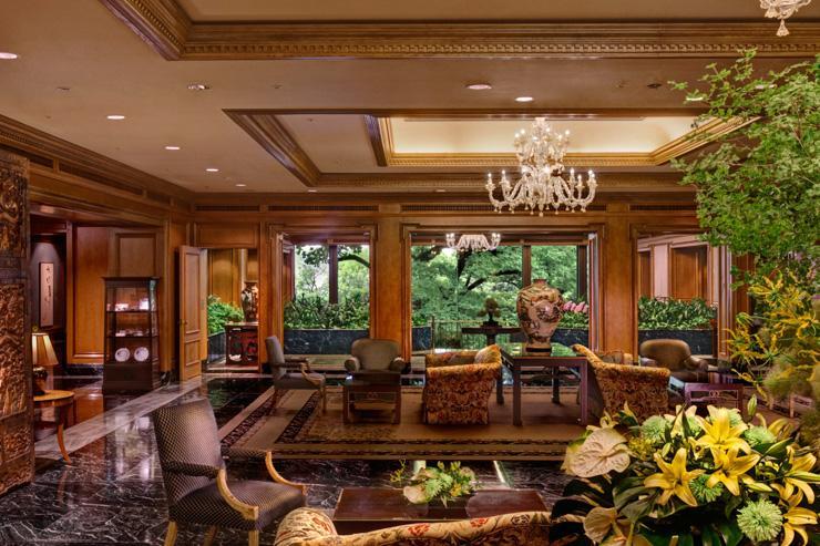 Hotel Chinzan-so - Lobby avec vue sur le parc