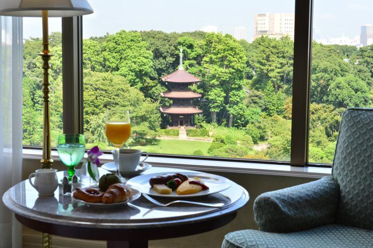 Hotel Chinzan-so - Chambre avec vue sur le parc