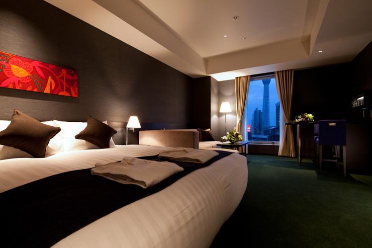 The Gate Hotel Kaminarimon - Chambre avec vue sur le Skytree