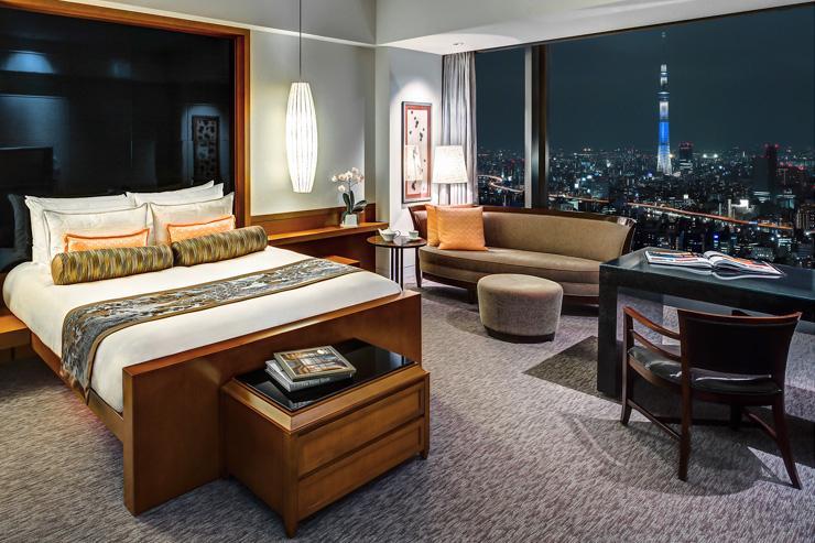 Mandarin Oriental Tokyo - Chambre avec vue