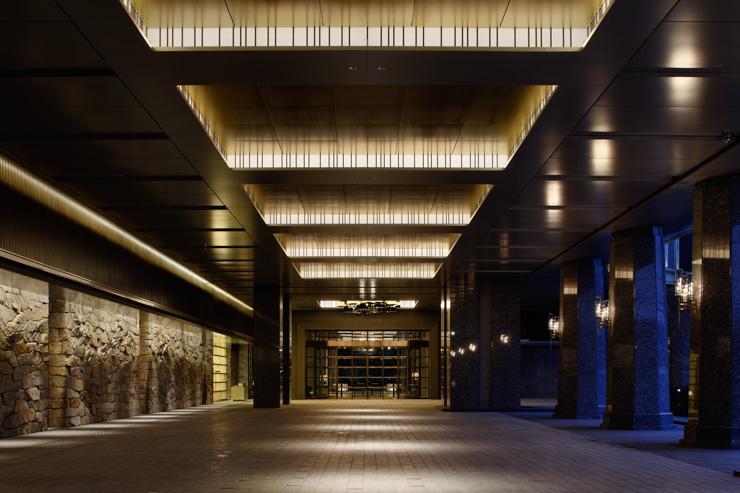 Palace Hotel Tokyo - Entrée de l'hôtel