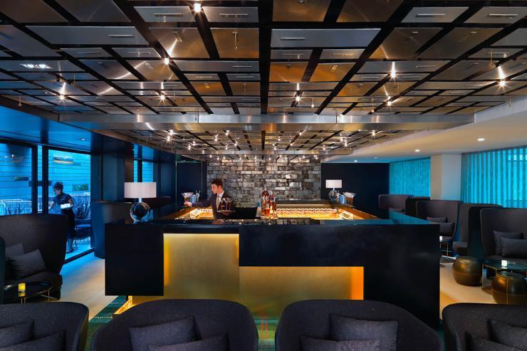 Banker's Bar au Mandarin Oriental Barcelona - Vue d'ensemble du bar