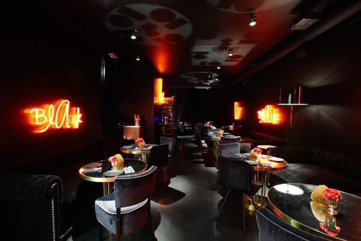Black @ La Royale - Intérieur du bar