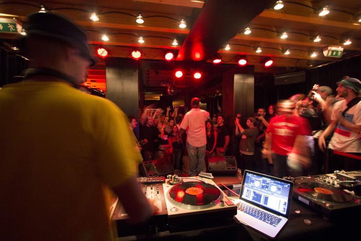 Marula Café - DJ Booth
