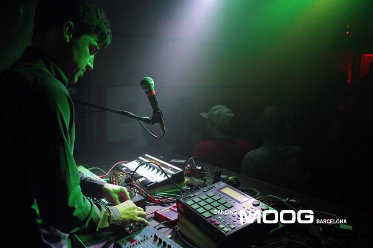 Moog Barcelona - Performance live