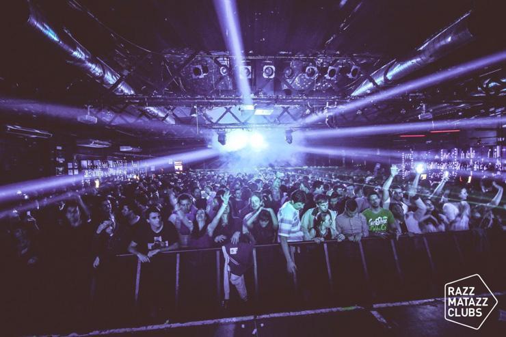 Razzmatazz - Le Razz Club, plus grande salle du complexe