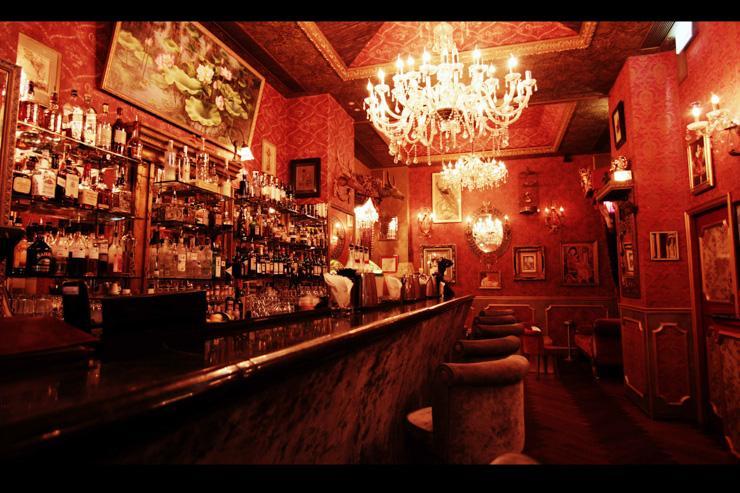 Le Boudoir - Le bar