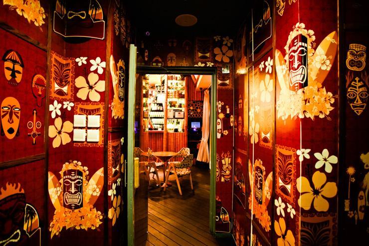 Honi Honi Tiki Cocktail Lounge - Ambiance polynésienne