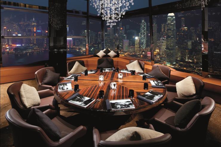 Ozone Bar - Vues sur tout Hong Kong