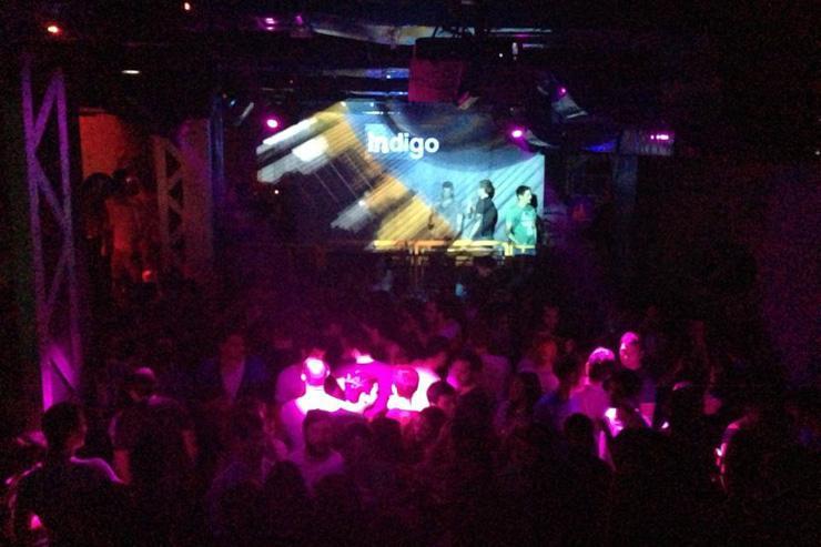 Indigo Club - Vue d'ensemble du dancefloor