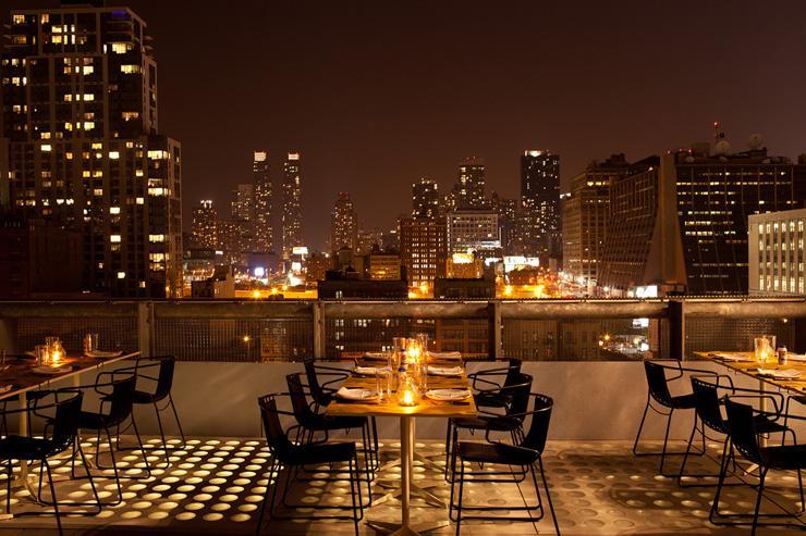 La Piscine at Hotel Americano - Le rooftop vu de nuit