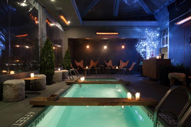 La Piscine at Hotel Americano - La fameuse piscine