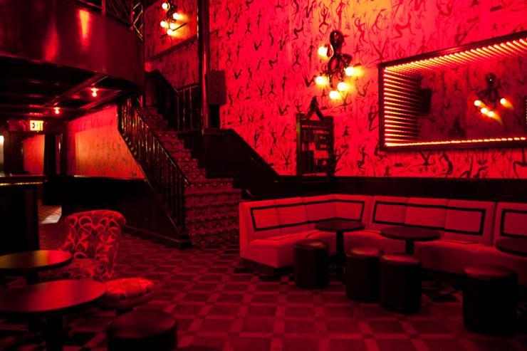 Le Baron Chinatown - Intérieur du club