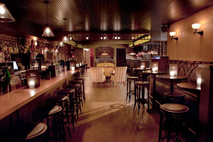 Bathtub Gin - Intérieur du bar