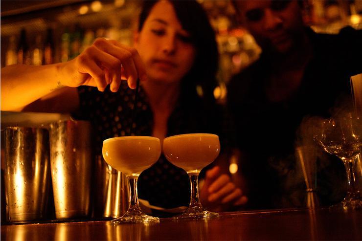booker and dax - Préparation des cocktails