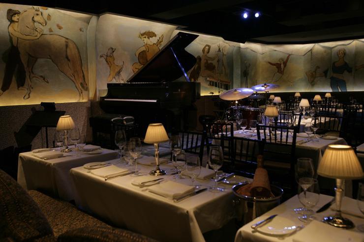 Café Carlyle - Tables situées devant l'orchestre