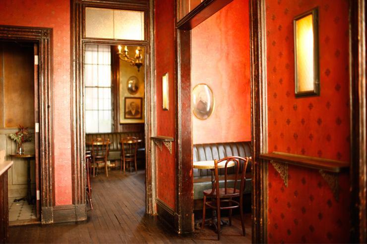 Hotel Delmano - Intérieur du bar