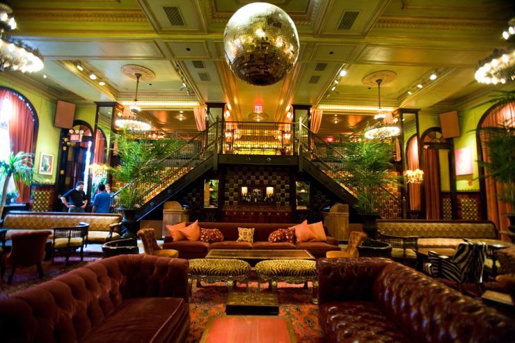 The Jane Ballroom - Intérieur du club