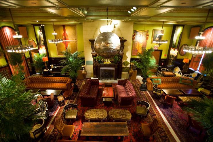 The Jane Ballroom - Vue d'ensemble du club depuis la mezzanine