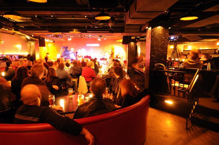 Jazz Standard - Intérieur du club