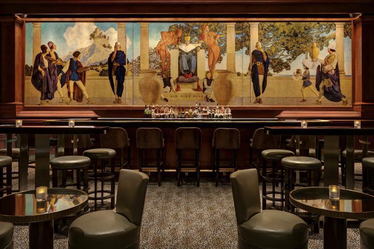 King Cole Bar & Lounge - La légendaire fresque Old King Cole