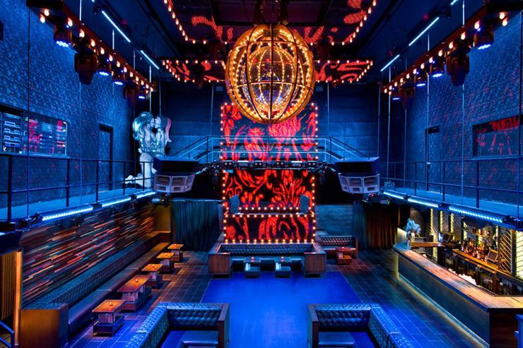 Marquee  - Intérieur du club
